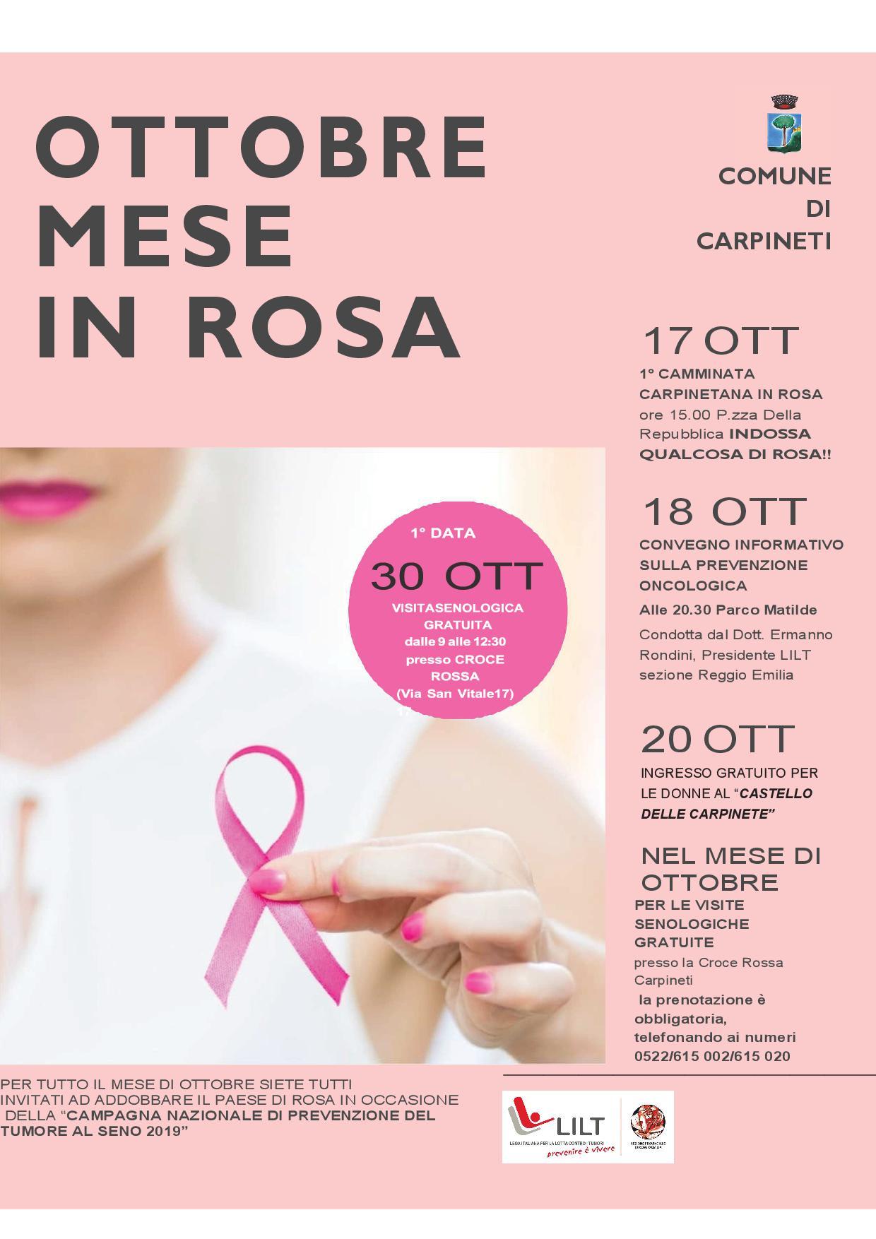 Locandina Ottobre - Mese in Rosa OK 3-10-19