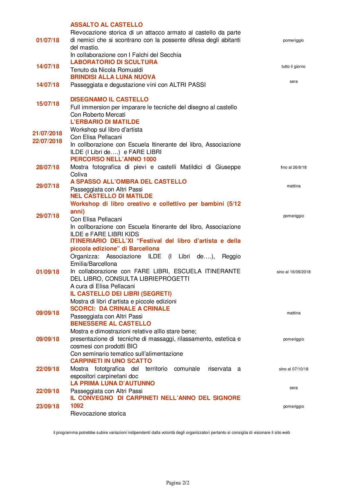 calendario eventi2