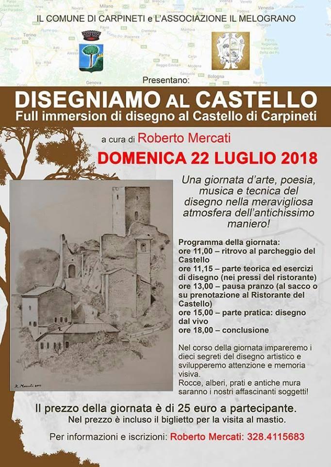 disegnamo al castello