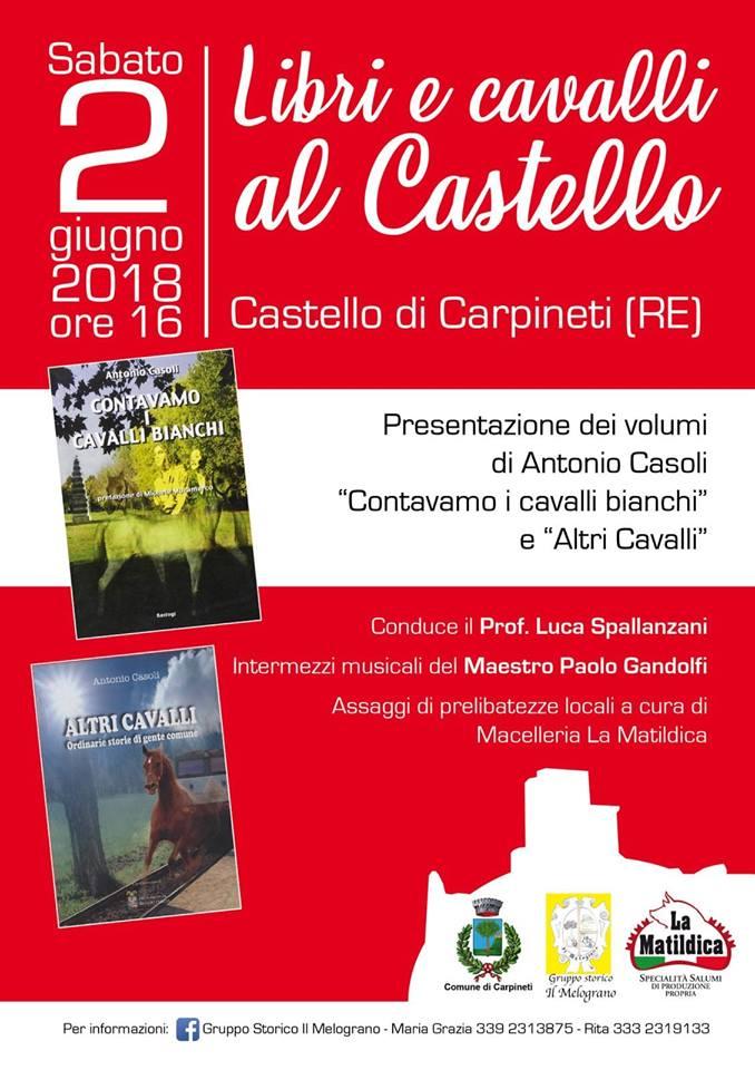 libri e cavalli al castello